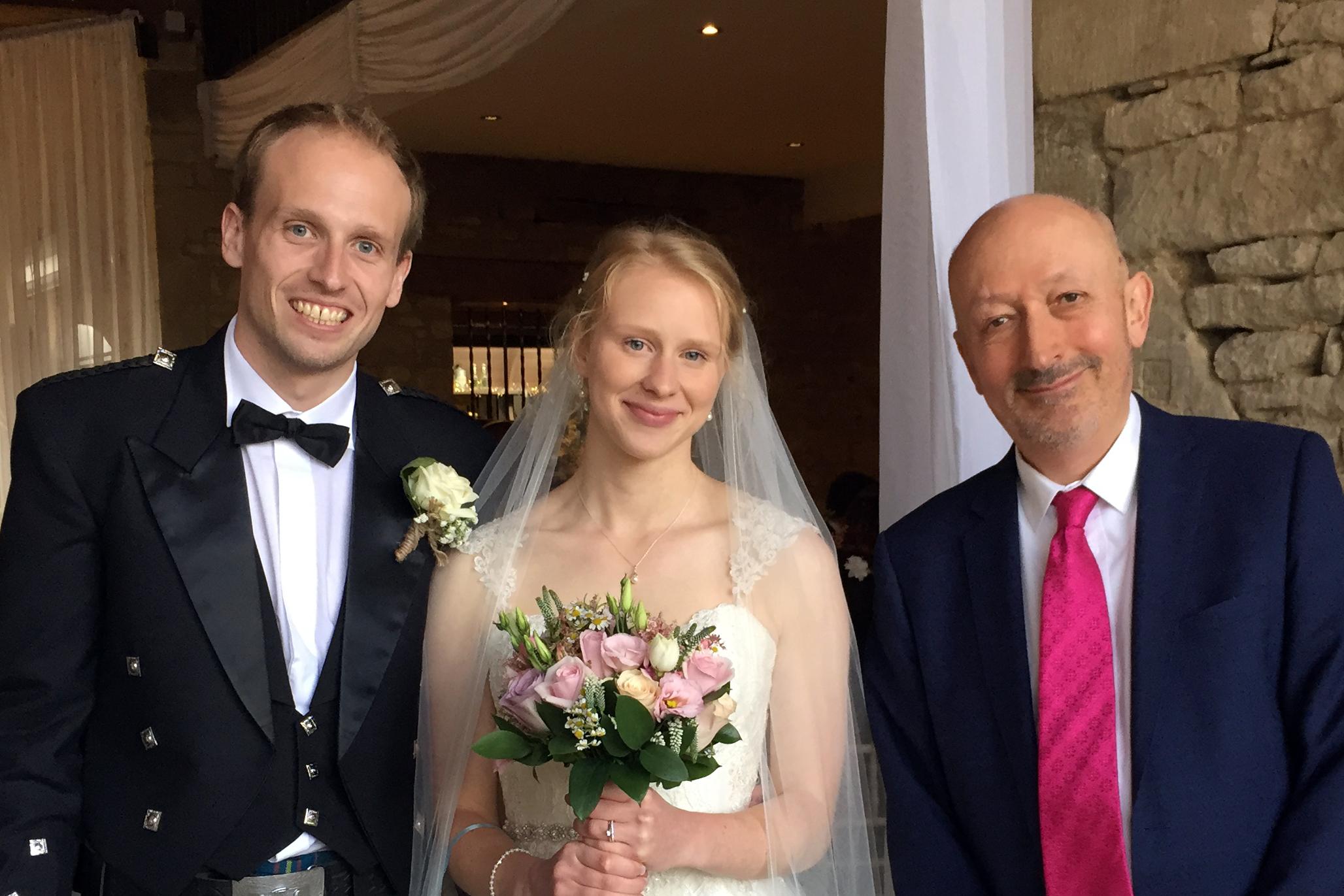 ian towers wedding couple
